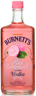 Burnett's Vodka Pink Lemonade 750ml - Case of 12
